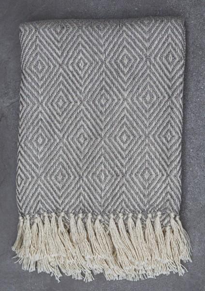 Grey Diamond Blanket
